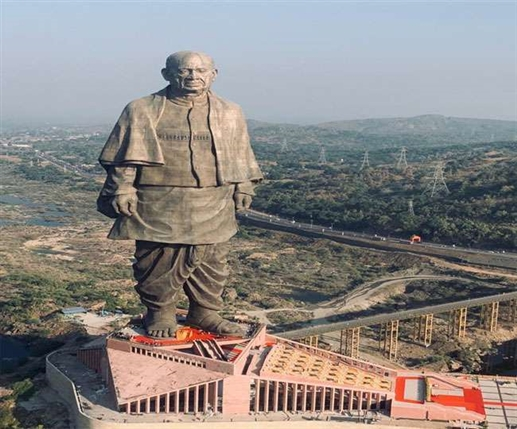 statue of unity will remain closed from october 28 to november 1