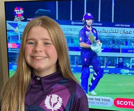 The 12 year old girl designed this countrys jersey for the T20 World Cup 12 ਸਾਲ ਦੀ ਕੁੜੀ ਨੇ ਡਿਜ਼ਾਈਨ ਕੀਤੀ ਹੈ ਟੀ20 ਵਰਲਡ ਕੱਪ ਲਈ ਇਸ ਦੇਸ਼ ਦੀ ਜਰਸੀ