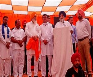ਲੁਧਿਆਣਾ 'ਚ ਸੁਖਬੀਰ ਬਾਦਲ ਦਾ ਦਾਅਵਾ- ਸਰਕਾਰ ਬਣੀ ਤਾਂ UP & Bihar ਦੇ ਲੋਕਾਂ ਨੂੰ ਸਾਲ 'ਚ 24 ਹਜ਼ਾਰ ਰੁਪਏ ਦੇਣਗੇ