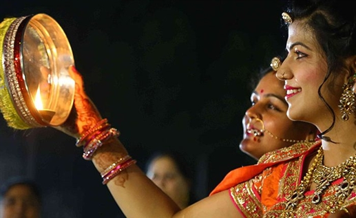 Karwa Chauth 2021 Chand Timings Find out the time of moonrise in these cities including Delhi Ludhiana and Chandigarh on the day of Karwa Chauth