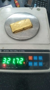 gold recovered
