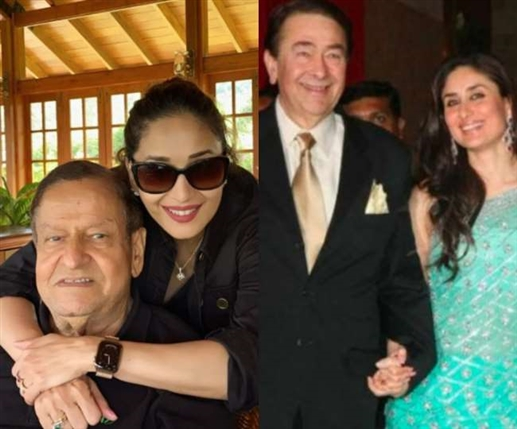 Father s Day From Madhuri Dixit to Kareena Kapoor these stars remember their father special photos shared