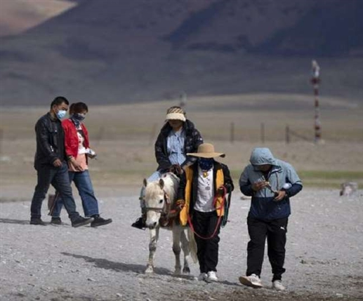 Damage to cultural monuments due to increasing influx of Chinese tourists in Tibet