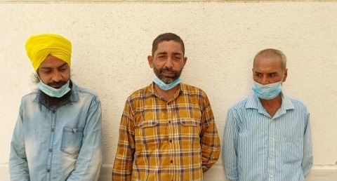 Dr SP Singh oberoi sent three Punjabi laborers living under a tree in Dubai