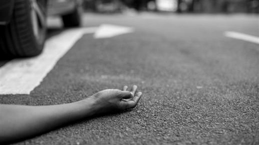 Bike rider dies after falling under truck