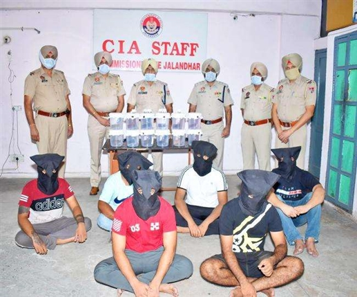 jalandhar police nabs seven members of interstate arms supply gang