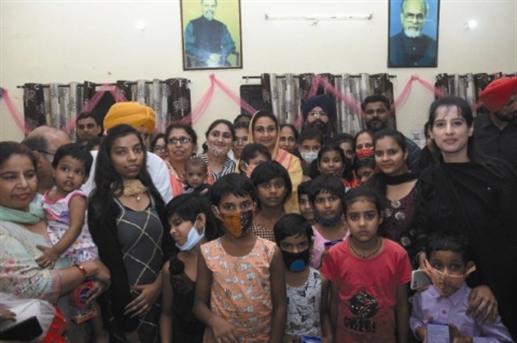 Harsimrat kaur badal jalandhar visit