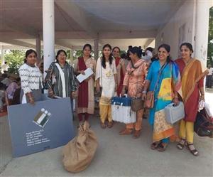 Haryana Election : ਪੋਲਿੰਗ ਪਾਰਟੀਆਂ ਹੋਣ ਲੱਗੀਆਂ ਰਵਾਨਾ, ਨੀਮ ਫ਼ੌਜੀ ਬਲਾਂ ਦੀਆਂ 130 ਕੰਪਨੀਆਂ ਸਮੇਤ 75 ਹਜ਼ਾਰ ਪੁਲਿਸ ਮੁਲਾਜ਼ਮ ਤਾਇਨਾਤ