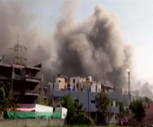 Fire in terminal 1 gate of Serum Institute of India in Pune