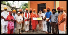 Seehewal Panchayat got 8 lacs through National Award
