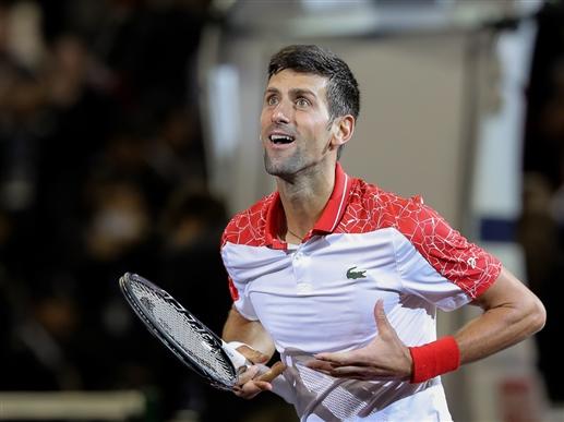 Novak Djokovic warns of losing self control
