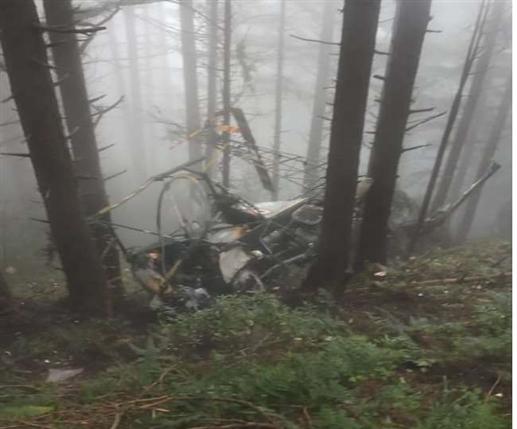 Army helicopter crash: Army helicopter crashes in Patnitop Shivgarh Dhar area, pilot and co-pilot injured | ਪਤਨੀਟਾਪ ਸ਼ਿਵਗੜ੍ਹ ਧਾਰ ਖੇਤਰ 'ਚ ਫ਼ੌਜ ਦਾ ਹੈਲੀਕਾਪਟਰ ਹਾਦਸਾਗ੍ਰਸਤ