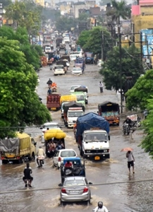 Record-breaking rains in September bring down temperatures, flooding roads, affect power supply