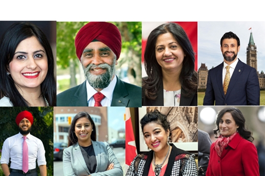 16 Punjabis win Canada federal elections Justin Trudeau to lead minority government again