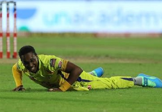 Dwayne Bravo out of IPL due to injury to Chennai Super Kings