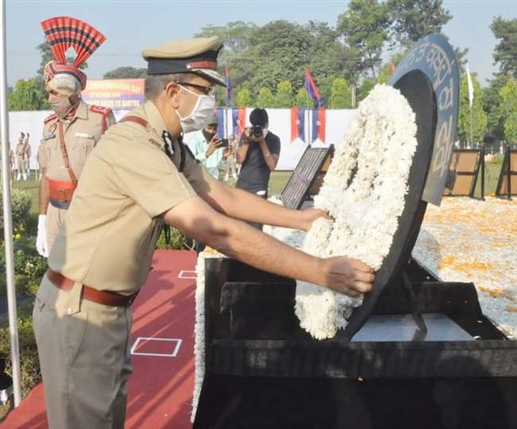 Police Commemoration Day dpg dinkar gupta rpaid tribute to the martyred