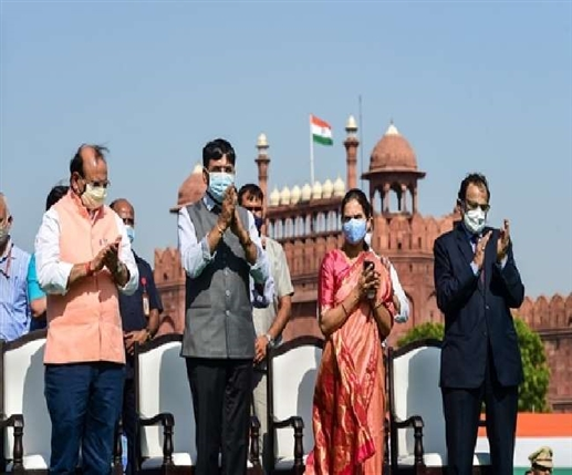 Video Union Health Minister launches this special song to celebrate India s 100 crore vaccination