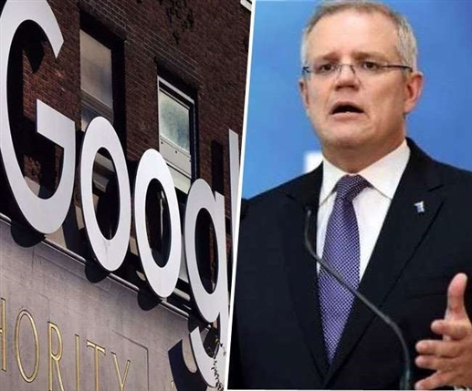 Google threatens to PM Scott Morrison to block Australians over media law