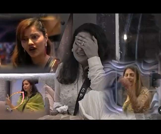 When Sonali Fogat throws food in the dustbin Rubina Nikki Arshi say Show this VIP nature in your house