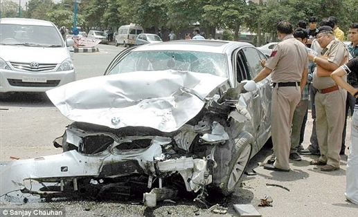 Why do road accidents happen