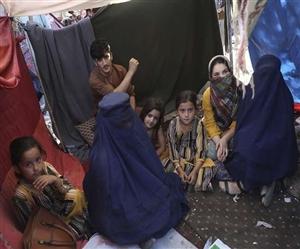 ਤਾਲਿਬਾਨ ਦੇ ਅਫ਼ਗਾਨਿਸਤਾਨ 'ਤੇ ਕਬਜ਼ੇ ਖਿਲਾਫ਼ ਲੰਡਨ 'ਚ ਵਿਰੋਧ ਰੈਲੀ, ਹਜ਼ਾਰਾਂ ਲੋਕ ਸੜਕਾਂ 'ਤੇ ਉਤਰੇ