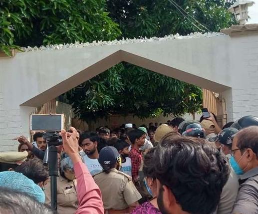 House of Atiq Ahmed demolished in Prayagraj