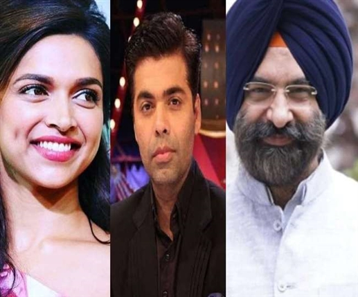 mla manjinder sirsa tweeted about deepika padukone and karan johar over drug case issue