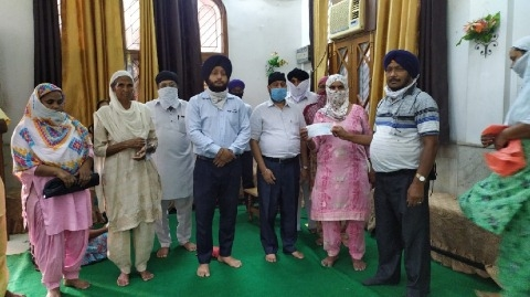 pension distributed