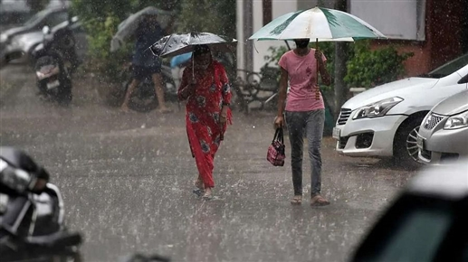 National News there will be heavy rain in the next 2 hours meteorological departments orange alert for many states including delhi