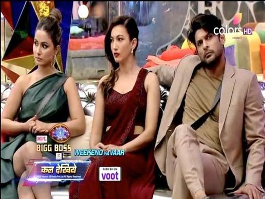 Toofani Seniors Gauahar Khan Hina Khan and Sidharth Shukla exit the show
