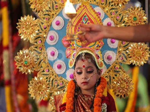 Navratri Kanya Pujan 2020 Muhurat and Time Do Kanya Pujan in this Muhurat on Ashtami and Ninth there will be mother s grace