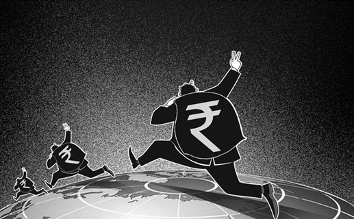 The trend of going out of black money