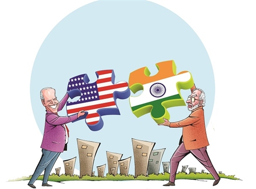 Indias friendly alliance with the United States