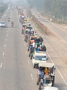 farmers goes in delhi andolan