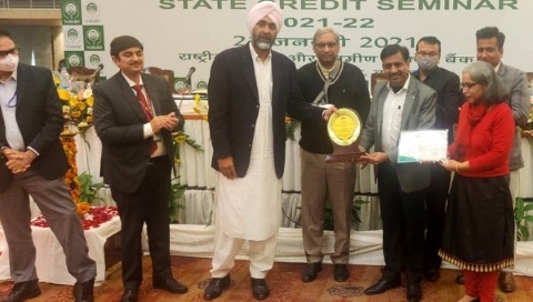 Cooperative Bank got first position in the state