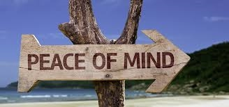 The importance of peace of mind