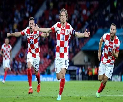 Croatia victory sparks captain Madrick 3 1 win over Scotland to reach last 16