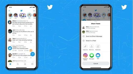 Twitter released new update users will able to share tweets in Instagram Story |