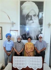Dr Mahal became the Honorary Director of Bhai Vir Singh Niwas Asthan