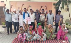 ਪੰਜਾਬ ਸਰਕਾਰ ਖ਼ਿਲਾਫ਼ ਸਫ਼ਾਈ ਕਾਮਿਆਂ ਨੇ ਕੀਤੀ ਨਾਅਰੇਬਾਜ਼ੀ