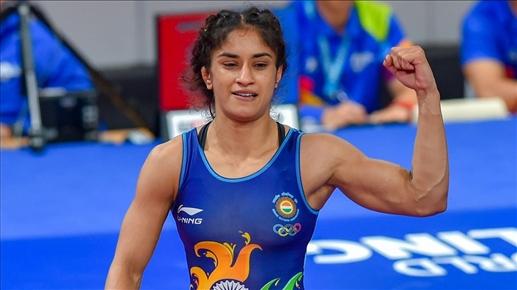 Indian Wrestler Vinesh Phogat to be the top seed in Tokyo Olympics   ਟੋਕੀਓ ਓਲੰਪਿਕ 'ਚ ਟਾਪ 'ਤੇ ਹੋਵੇਗੀ ਇਹ ਭਲਵਾਨ, ਇਨ੍ਹਾਂ 4 ਖਿਡਾਰੀਆਂ ਨੂੰ ਵੀ ਮਿਲਿਆ ਰੈਂਕ