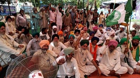 protest news farmer jagraon