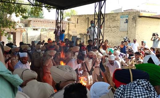 Gangster Jaipal Bhullar last rites today Bhai Amritpal was brought to the crematorium under tight security