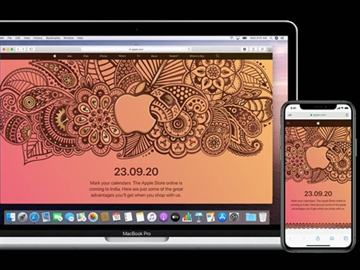 Apple Store Live Online in India