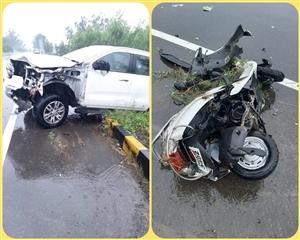 Road Accident : ਪਚਰੰਗਾ ਨੇੜੇ ਵਾਪਰੇ ਦਰਦਨਾਕ ਹਾਦਸੇ 'ਚ ਪਿਤਾ, ਪੁੱਤਰ ਤੇ ਪੁੱਤਰੀ ਦੀ ਮੌਤ, 2 ਗੰਭੀਰ ਜ਼ਖ਼ਮੀ