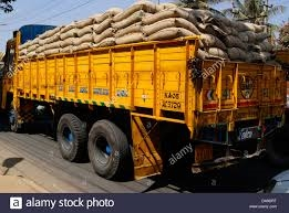 Truck loaded with paddy brought from UP was handed over with Driver to the police
