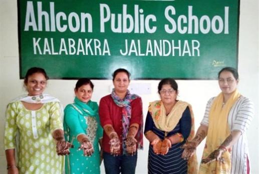 Held Mahindi competition at Alcon Public School
