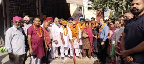Constituency In-charge Mohinder Singh KP inaugurated development works worth Rs. 6.13 crore