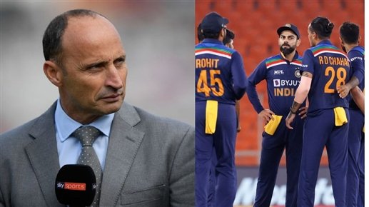 India not the main contender for the title says Nasir Hussain
