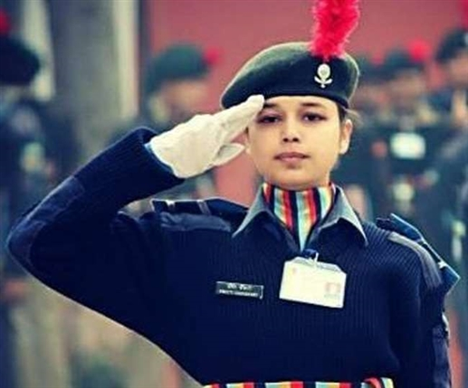 republic day parade former cadet of ncc airwing chandigarh will lead the three forces on rajpath